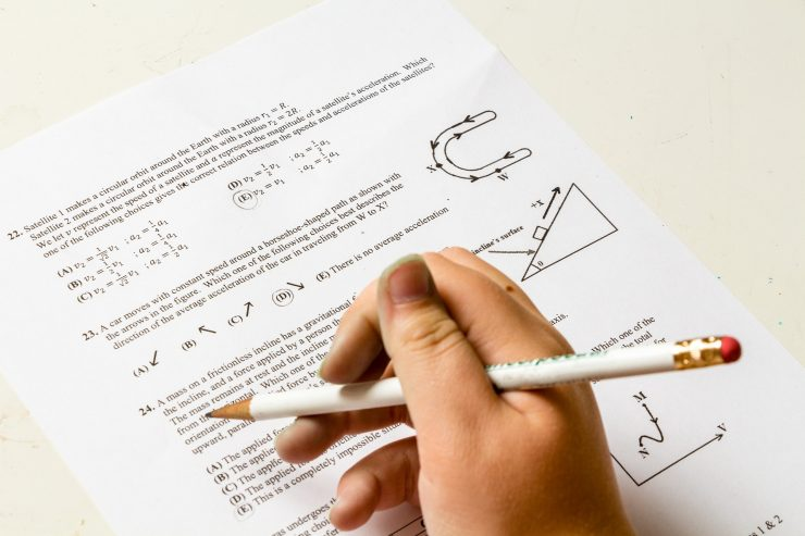 test, matematika, otkazano